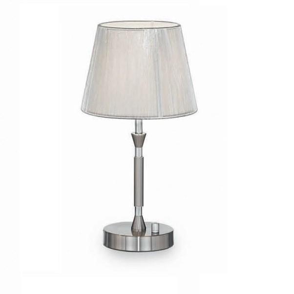 Veioza cu variator PARIS TL1 Small Argento 015965, Veioze, Lampi de masa, Corpuri de iluminat, lustre, aplice a