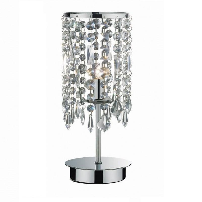 Veioza, lampa de masa cristal Venezian ROYAL TL1 053028, Veioze, Lampi de masa, Corpuri de iluminat, lustre, aplice a