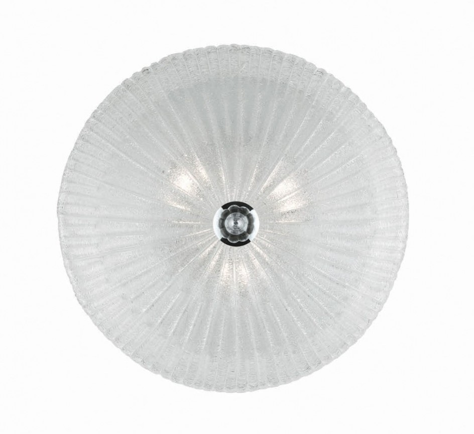 Plafonier elegant diametru 40cm SHELL PL3 008608, Plafoniere moderne, Corpuri de iluminat, lustre, aplice a