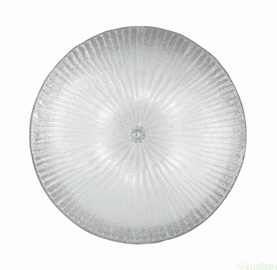 Plafonier elegant diametru 60cm SHELL PL6 008622, Plafoniere moderne, Corpuri de iluminat, lustre, aplice a
