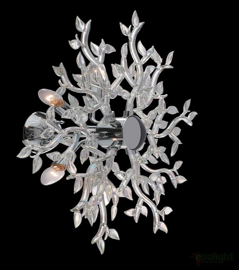 Lustra SPRING diametru 75cm PL5 IRIDE 031064, Lustre moderne aplicate, Corpuri de iluminat, lustre, aplice, veioze, lampadare, plafoniere. Mobilier si decoratiuni, oglinzi, scaune, fotolii. Oferte speciale iluminat interior si exterior. Livram in toata tara.  a