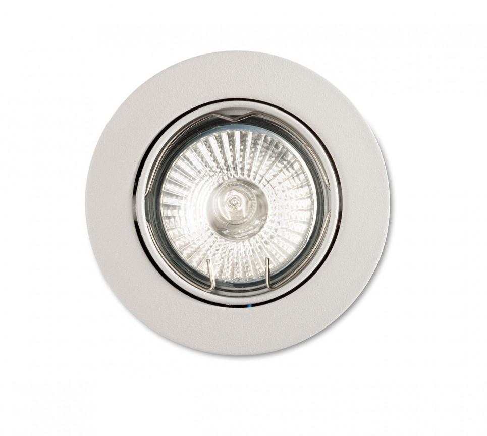 Spot orientabil incastrat diam.8,2cm, SWING FI1 alb 083179 , Spoturi incastrate, aplicate - tavan / perete, Corpuri de iluminat, lustre, aplice a