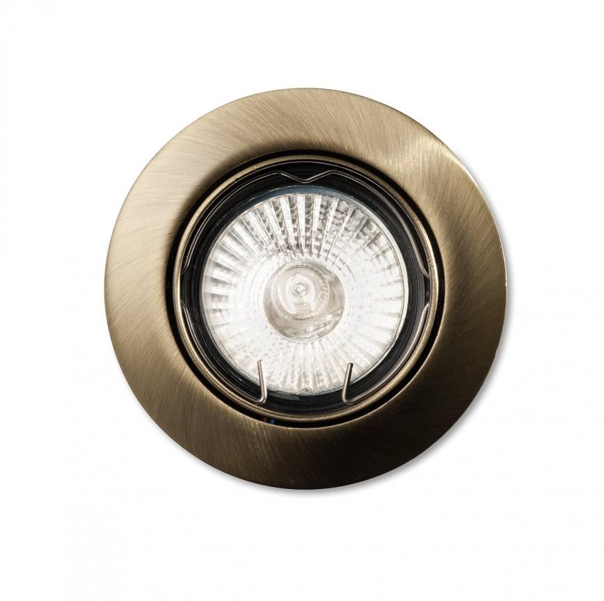 Spot orientabil incastrat diam.8,2cm, SWING FI1 brunito 083186 , Spoturi incastrate, aplicate - tavan / perete, Corpuri de iluminat, lustre, aplice a
