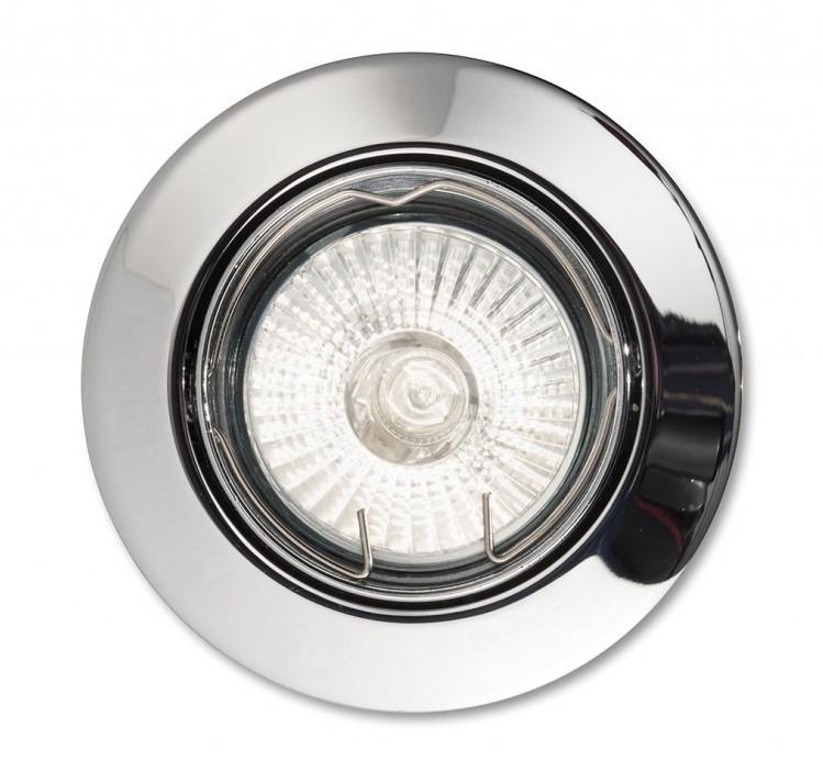 Spot orientabil incastrat diam.8,2cm, SWING FI1 crom 083131, Spoturi incastrate, aplicate - tavan / perete, Corpuri de iluminat, lustre, aplice a