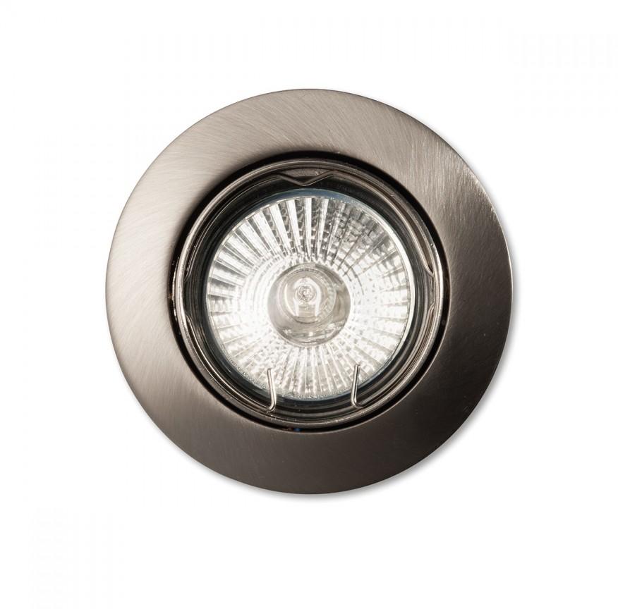 Spot orientabil incastrat diam.8,2cm, SWING FI1 nickel 083148, Spoturi incastrate, aplicate - tavan / perete, Corpuri de iluminat, lustre, aplice a
