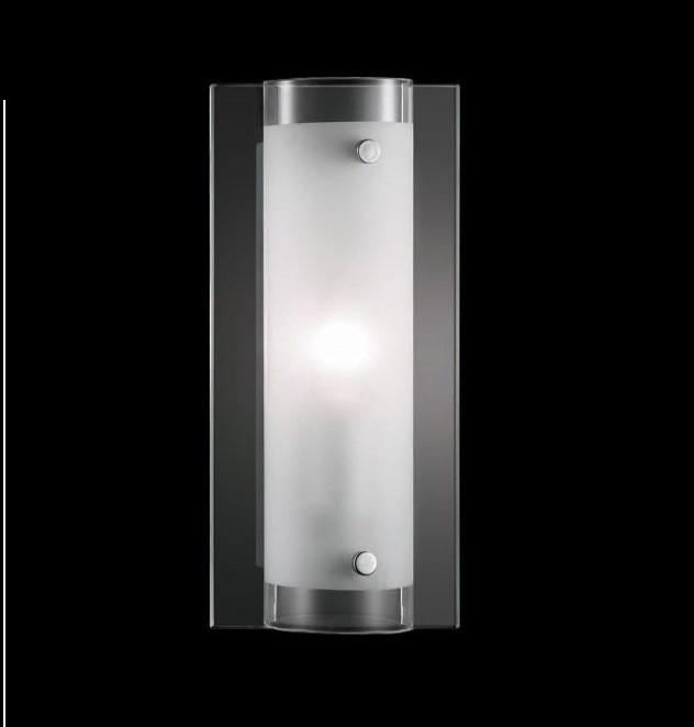 Aplica de perete dim. 12x25cm TUDOR AP1 051840, Magazin, Corpuri de iluminat, lustre, aplice, veioze, lampadare, plafoniere. Mobilier si decoratiuni, oglinzi, scaune, fotolii. Oferte speciale iluminat interior si exterior. Livram in toata tara.  a