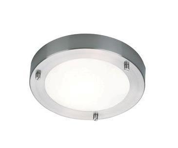 Aplica de perete, Plafonier 204LM, IP44, diametru 18,5cm Ancona 25229932 NL, Plafoniere cu protectie pentru baie, Corpuri de iluminat, lustre, aplice a