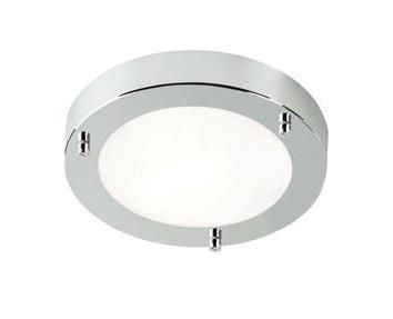 Aplica de perete, Plafonier 204LM, IP44, diametru 18,5cm Ancona 25226129NL, Plafoniere cu protectie pentru baie, Corpuri de iluminat, lustre, aplice a