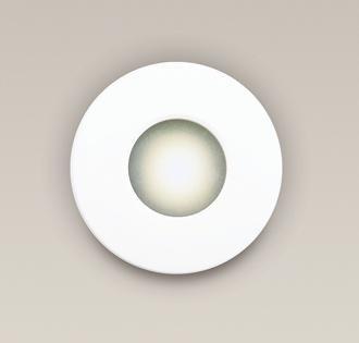 Spot incastrabil, alb, cu protectie IP65, diam.8,5cm, RWH H0044 MX, Spoturi incastrate, aplicate - tavan / perete, Corpuri de iluminat, lustre, aplice a
