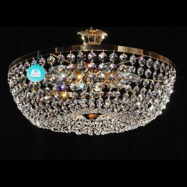 Plafonier diametru 60cm Cristal Swarovski Petra, Plafoniere Cristal Swarovski, Corpuri de iluminat, lustre, aplice, veioze, lampadare, plafoniere. Mobilier si decoratiuni, oglinzi, scaune, fotolii. Oferte speciale iluminat interior si exterior. Livram in toata tara.  a