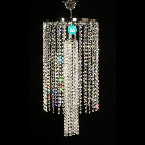 Lustra Cristal Swarovski diametru 40cm Ariel, Plafoniere Cristal Swarovski, Corpuri de iluminat, lustre, aplice, veioze, lampadare, plafoniere. Mobilier si decoratiuni, oglinzi, scaune, fotolii. Oferte speciale iluminat interior si exterior. Livram in toata tara.  a