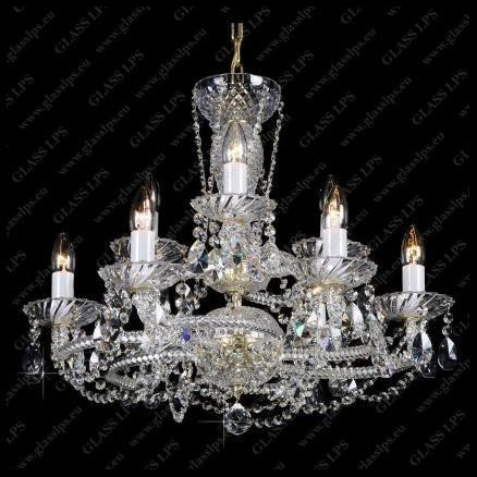 Lustra 9 brate cristal Bohemia L11 081/09/1-A, PROMOTII, Corpuri de iluminat, lustre, aplice, veioze, lampadare, plafoniere. Mobilier si decoratiuni, oglinzi, scaune, fotolii. Oferte speciale iluminat interior si exterior. Livram in toata tara.  a