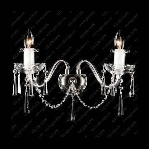 Aplica cristal Bohemia N21 125/02/3-K; Ni, lip., Aplice Cristal Bohemia, Corpuri de iluminat, lustre, aplice, veioze, lampadare, plafoniere. Mobilier si decoratiuni, oglinzi, scaune, fotolii. Oferte speciale iluminat interior si exterior. Livram in toata tara.  a