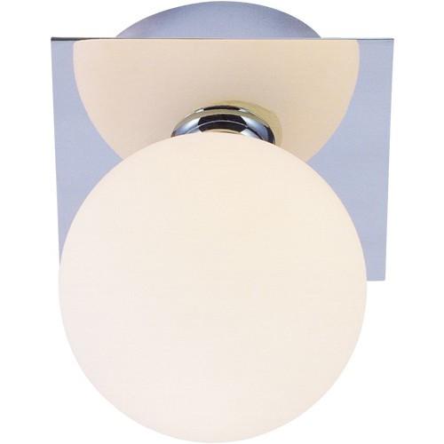 Aplica pentru baie IP44 Cardiff 5663-1 GL, Cele mai vandute Corpuri de iluminat, lustre, aplice a