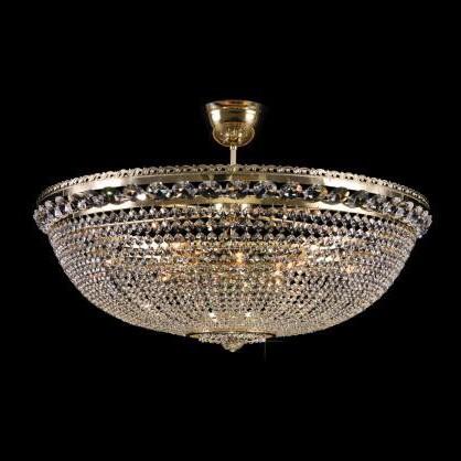 Plafonier cristal Bohemia diametru 82cm L15 165/12/6, Plafoniere Cristal Bohemia, Corpuri de iluminat, lustre, aplice a
