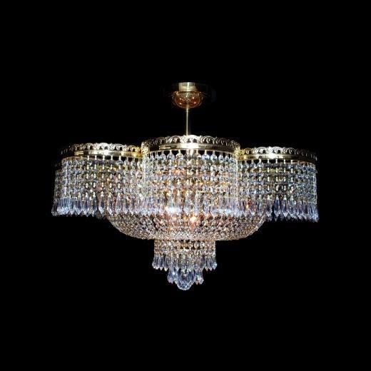Plafonier cristal Bohemia diametru 70cm L15 003/09/3, LUSTRE CRISTAL, Corpuri de iluminat, lustre, aplice, veioze, lampadare, plafoniere. Mobilier si decoratiuni, oglinzi, scaune, fotolii. Oferte speciale iluminat interior si exterior. Livram in toata tara.  a