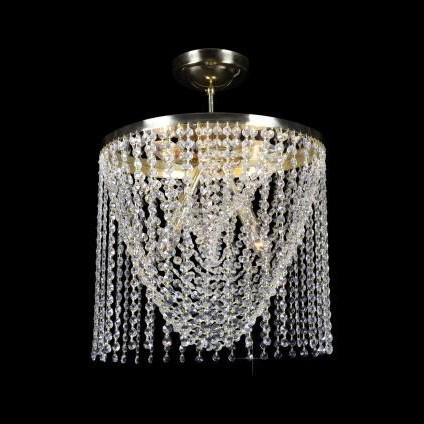 Plafonier cristal Bohemia diametru 40cm L15 134/05/6, Plafoniere Cristal Bohemia, Corpuri de iluminat, lustre, aplice a