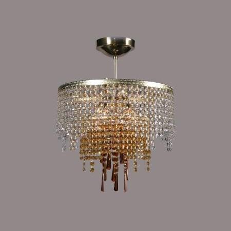 Plafonier cristal Bohemia color diametru 40cm L15 244/06/6, Plafoniere Cristal Bohemia, Corpuri de iluminat, lustre, aplice a
