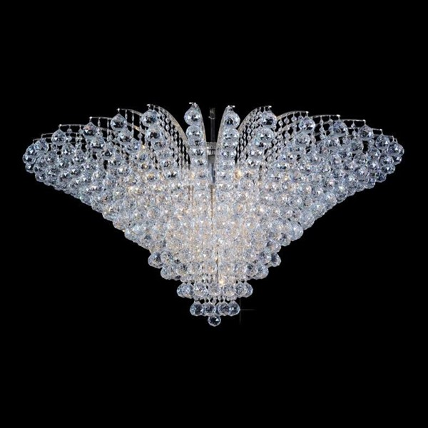 Plafonier cristal Bohemia diametru 120cm L15 555/23/4; Ni, Plafoniere Cristal Bohemia, Corpuri de iluminat, lustre, aplice a