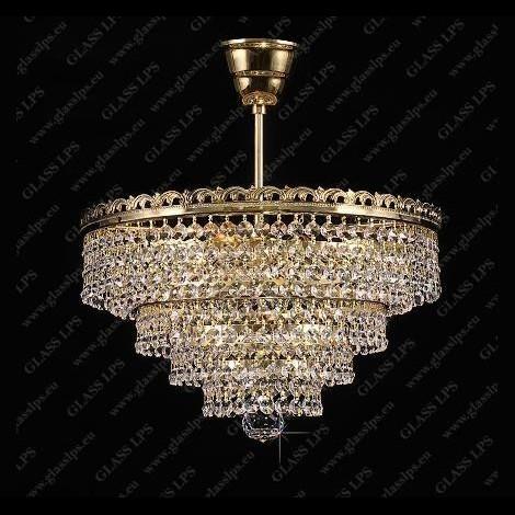 Plafonier cristal Bohemia diam. 35cm L15 523/03/6, Magazin, Corpuri de iluminat, lustre, aplice a