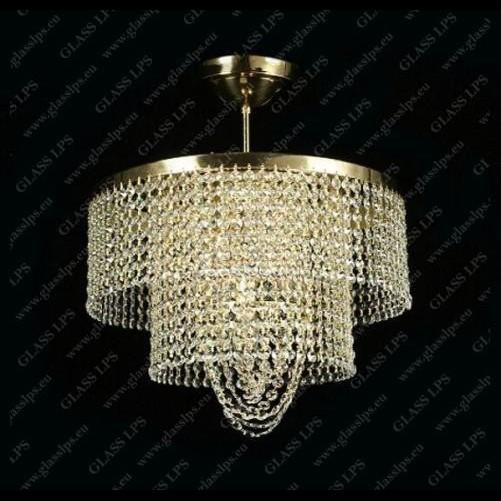 Plafonier cristal Bohemia diam. 40cm L15 534/05/6, Magazin, Corpuri de iluminat, lustre, aplice a