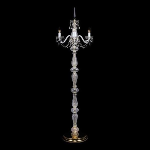 Lampadar 3 brate cristal Bohemia S41 006/03/1-A, Lampadare Cristal, Corpuri de iluminat, lustre, aplice, veioze, lampadare, plafoniere. Mobilier si decoratiuni, oglinzi, scaune, fotolii. Oferte speciale iluminat interior si exterior. Livram in toata tara.  a