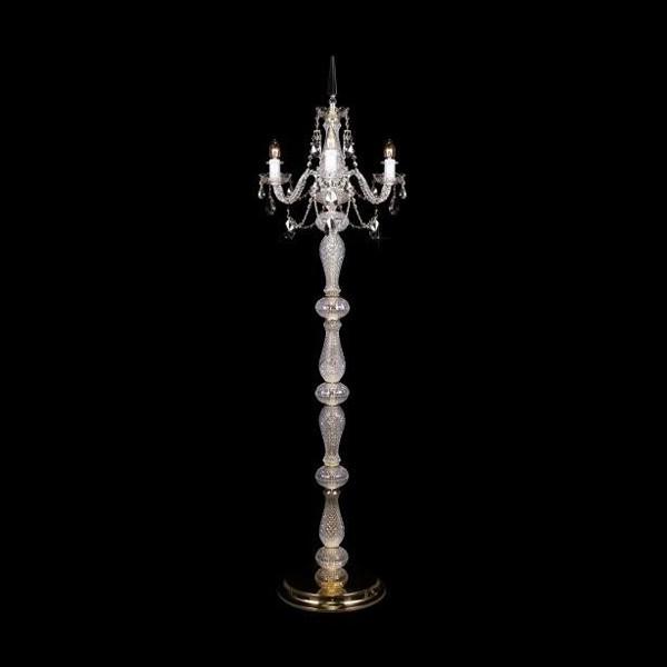 Lampadar 3 brate cristal Bohemia S41 009/03/1-A; lip., Magazin, Corpuri de iluminat, lustre, aplice, veioze, lampadare, plafoniere. Mobilier si decoratiuni, oglinzi, scaune, fotolii. Oferte speciale iluminat interior si exterior. Livram in toata tara.  a