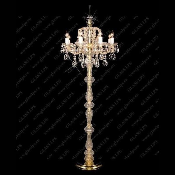 Lampadar Maria Theresa cristal Bohemia S44 002/08/1, Lampadare Cristal, Corpuri de iluminat, lustre, aplice, veioze, lampadare, plafoniere. Mobilier si decoratiuni, oglinzi, scaune, fotolii. Oferte speciale iluminat interior si exterior. Livram in toata tara.  a