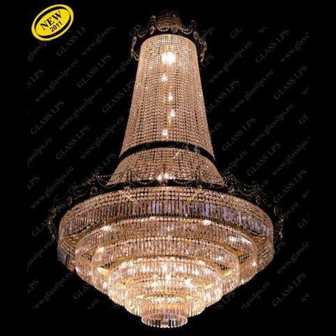 Lustra cristal Bohemia L15 552/48/1-A, 3-P, Lustre Imperial Cristal Bohemia, Corpuri de iluminat, lustre, aplice, veioze, lampadare, plafoniere. Mobilier si decoratiuni, oglinzi, scaune, fotolii. Oferte speciale iluminat interior si exterior. Livram in toata tara.  a