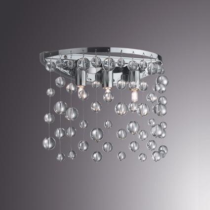 Aplica de perete moderna NEVE AP3 033938 - Corpuri de iluminat, lustre ...