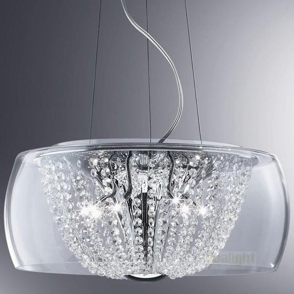 Pendul super modern cristal, diametru 50cm AUDI-60 SP11 D50 18744, PROMOTII, Corpuri de iluminat, lustre, aplice, veioze, lampadare, plafoniere. Mobilier si decoratiuni, oglinzi, scaune, fotolii. Oferte speciale iluminat interior si exterior. Livram in toata tara.  a