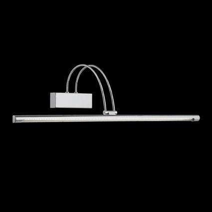 Aplica de perete LED BOW AP114 CROMO 007021, Cele mai vandute Corpuri de iluminat, lustre, aplice, veioze, lampadare, plafoniere. Mobilier si decoratiuni, oglinzi, scaune, fotolii. Oferte speciale iluminat interior si exterior. Livram in toata tara.  a