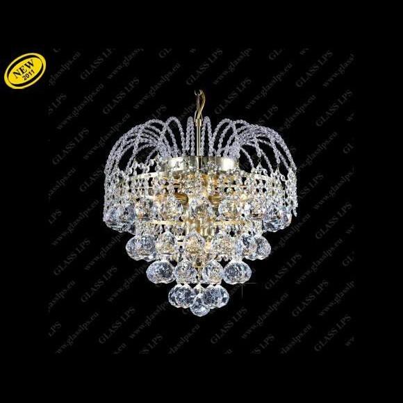 Pendul Lux cristal diametru 50 cm Bohemia L15 530/09/4, Pendule Cristal Bohemia, Corpuri de iluminat, lustre, aplice a