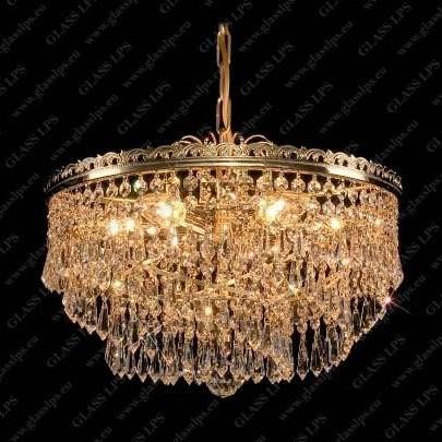 Pendul Lux cristal Bohemia diametru 40cm L15 580/06/3, Pendule Cristal Bohemia, Corpuri de iluminat, lustre, aplice a