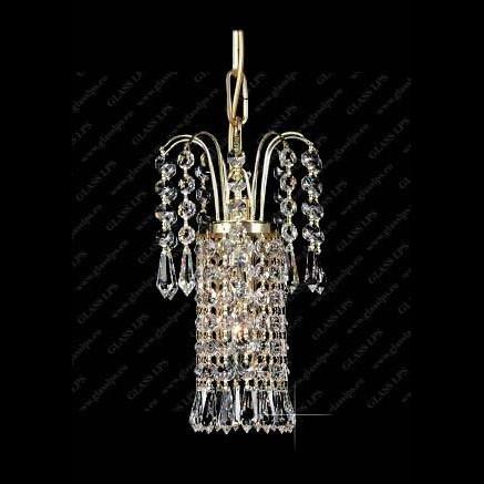 Pendul cristal Bohemia diametru 14cm L15 590/01/3, Pendule Cristal Bohemia, Corpuri de iluminat, lustre, aplice a