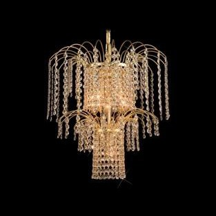 Pendul cristal Bohemia diametru 43cm L15 775/04/6, Pendule Cristal Bohemia, Corpuri de iluminat, lustre, aplice a
