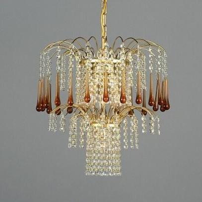 Pendul cristal Bohemia L15 775/04/9 light topaz, Pendule Cristal Bohemia, Corpuri de iluminat, lustre, aplice a