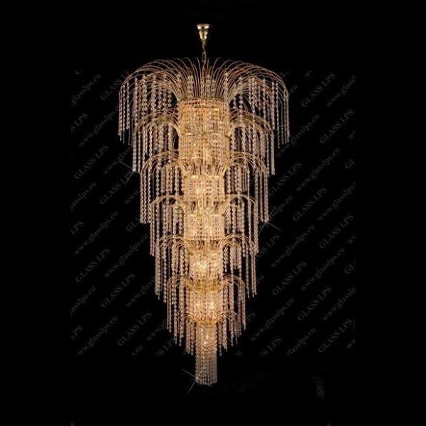 Pendul cristal Bohemia diametru 100cm L15 775/22/6, Pendule Cristal Bohemia, Corpuri de iluminat, lustre, aplice a