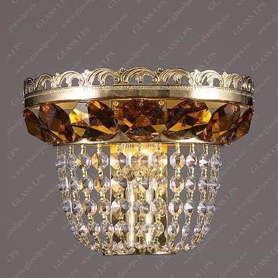 Aplica de perete cristal Bohemia N25 365/01/6 light topaz, Aplice Cristal Bohemia, Corpuri de iluminat, lustre, aplice, veioze, lampadare, plafoniere. Mobilier si decoratiuni, oglinzi, scaune, fotolii. Oferte speciale iluminat interior si exterior. Livram in toata tara.  a