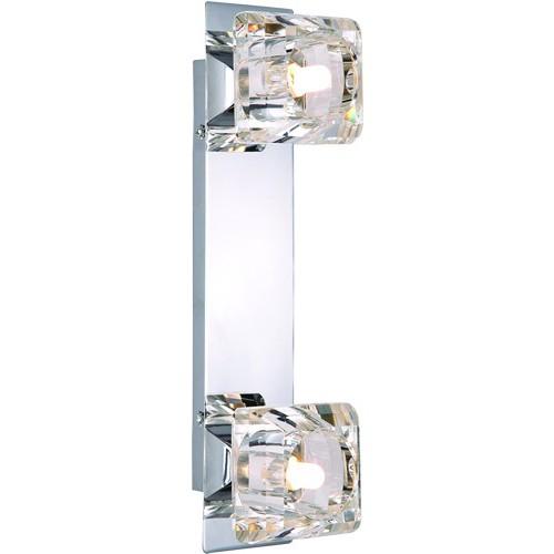 Aplica Cubus 5692-2 GL, Aplice de perete simple, Corpuri de iluminat, lustre, aplice, veioze, lampadare, plafoniere. Mobilier si decoratiuni, oglinzi, scaune, fotolii. Oferte speciale iluminat interior si exterior. Livram in toata tara.  a