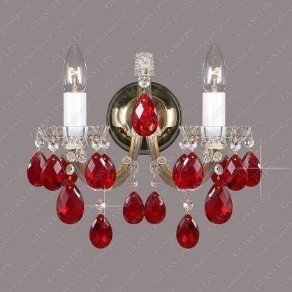 Aplica Maria Theresa cristal Bohemia N24 050/02/1 ruby,  a