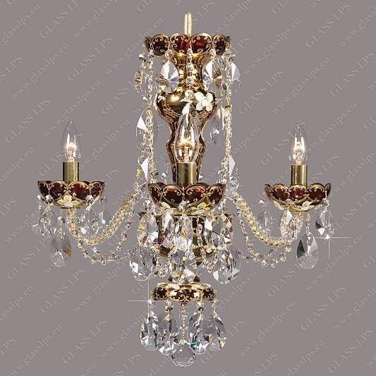 Lustra cristal Bohemia L13 001/03/1-A; GOLD, F ruby, Candelabre, Lustre Cristal Bohemia, Corpuri de iluminat, lustre, aplice, veioze, lampadare, plafoniere. Mobilier si decoratiuni, oglinzi, scaune, fotolii. Oferte speciale iluminat interior si exterior. Livram in toata tara.  a
