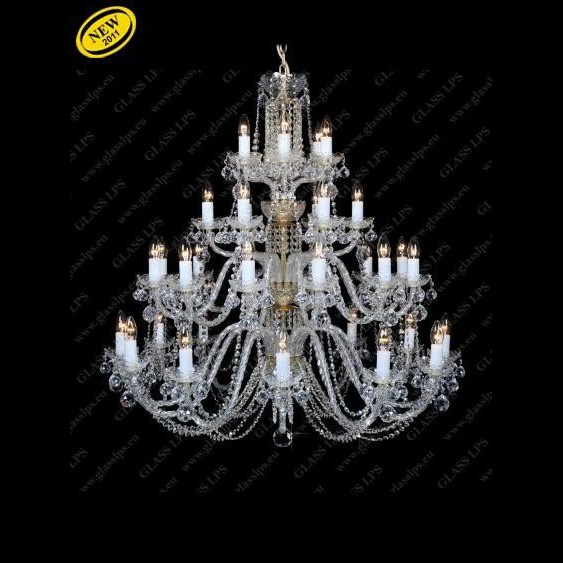 Lustra 54 brate cristal Bohemia L11 007/54/4, Candelabre, Lustre Cristal Bohemia, Corpuri de iluminat, lustre, aplice, veioze, lampadare, plafoniere. Mobilier si decoratiuni, oglinzi, scaune, fotolii. Oferte speciale iluminat interior si exterior. Livram in toata tara.  a