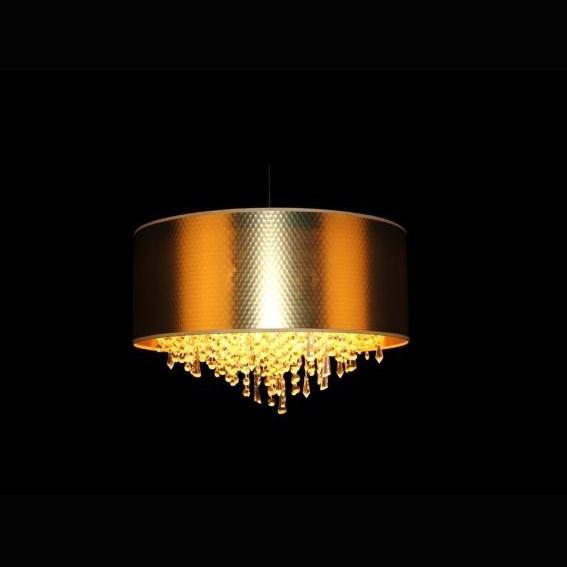 Lustra cristal Bohemia L17 701/06/3, 3-K; shade (gold), Pendule Cristal Bohemia, Corpuri de iluminat, lustre, aplice a