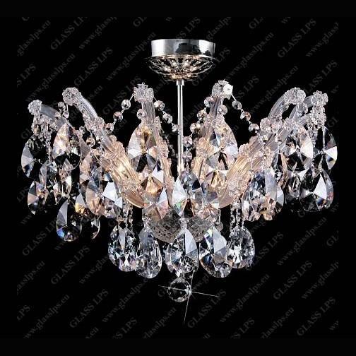 Plafonier cristal Bohemia L14 014/06/1-A; Ni, LUSTRE CRISTAL, Corpuri de iluminat, lustre, aplice, veioze, lampadare, plafoniere. Mobilier si decoratiuni, oglinzi, scaune, fotolii. Oferte speciale iluminat interior si exterior. Livram in toata tara.  a