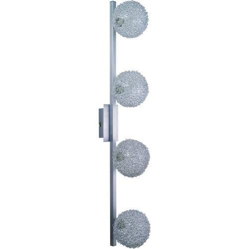 Lustra New Design 5662-4 GL, Spoturi - iluminat - cu 4 spoturi, Corpuri de iluminat, lustre, aplice a