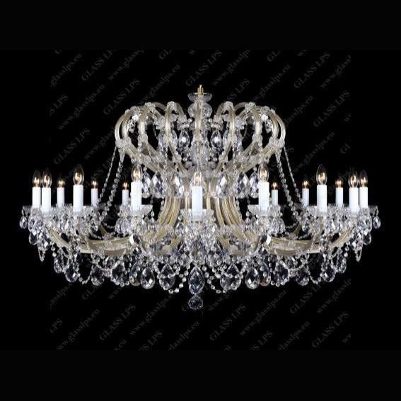 Candelabru Maria Theresa cristal Bohemia L14 005/18/1, Candelabre, Lustre Cristal Bohemia, Corpuri de iluminat, lustre, aplice, veioze, lampadare, plafoniere. Mobilier si decoratiuni, oglinzi, scaune, fotolii. Oferte speciale iluminat interior si exterior. Livram in toata tara.  a