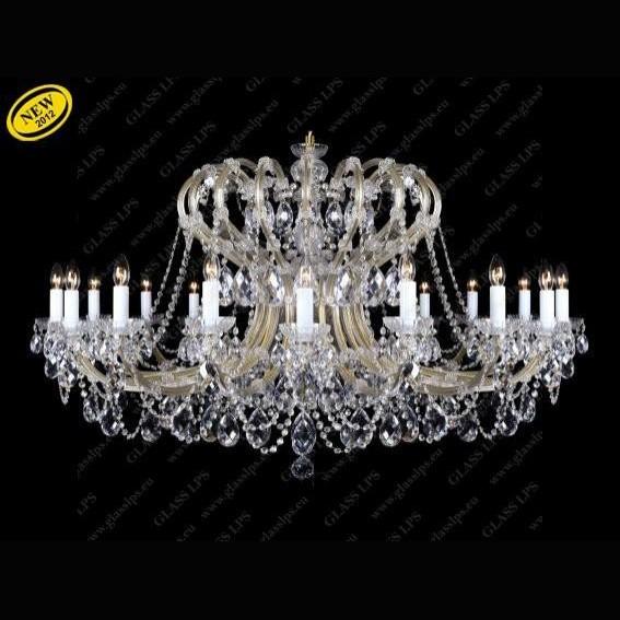 Candelabru Maria Theresa cristal Bohemia L14 004/16/1, Candelabre, Lustre Cristal Bohemia, Corpuri de iluminat, lustre, aplice, veioze, lampadare, plafoniere. Mobilier si decoratiuni, oglinzi, scaune, fotolii. Oferte speciale iluminat interior si exterior. Livram in toata tara.  a