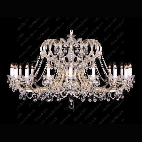 Candelabru Maria Theresa cristal Bohemia L14 005/18/1-A, Candelabre, Lustre Cristal Bohemia, Corpuri de iluminat, lustre, aplice, veioze, lampadare, plafoniere. Mobilier si decoratiuni, oglinzi, scaune, fotolii. Oferte speciale iluminat interior si exterior. Livram in toata tara.  a