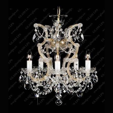 Lustra Maria Theresa cristal Bohemia L14 033/05/1, Candelabre, Lustre Cristal Bohemia, Corpuri de iluminat, lustre, aplice, veioze, lampadare, plafoniere. Mobilier si decoratiuni, oglinzi, scaune, fotolii. Oferte speciale iluminat interior si exterior. Livram in toata tara.  a